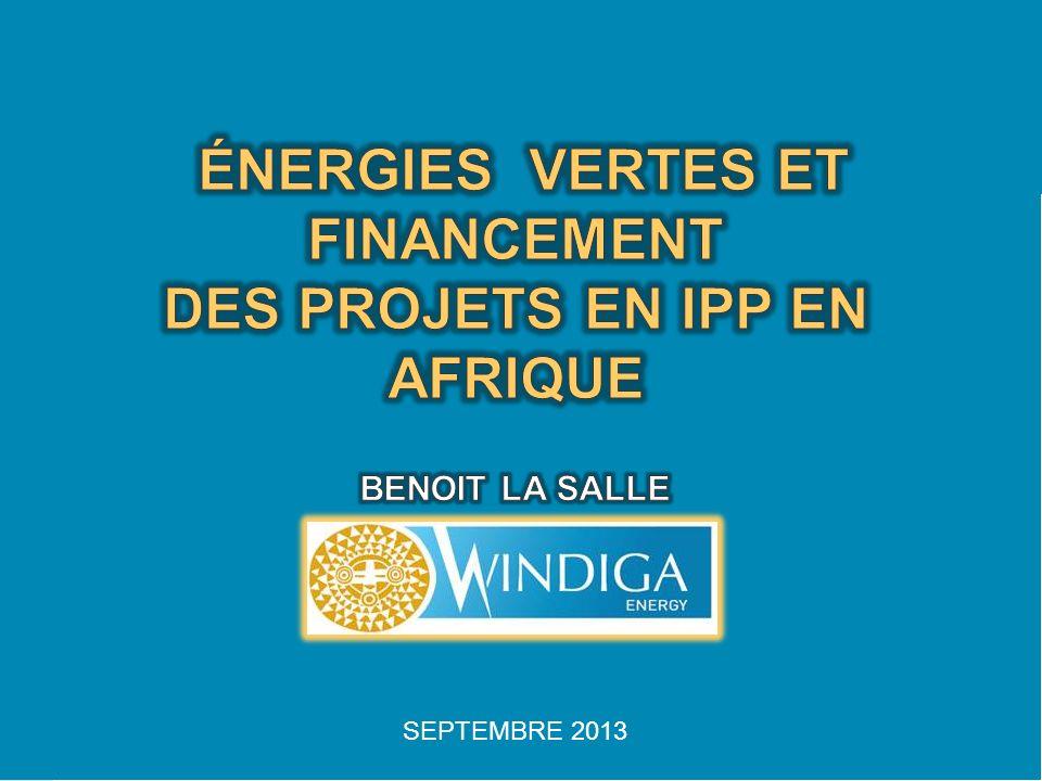 Compagnie de développement de projets dénergie renouvelable et producteur indépendant dénergie sur le marché africain.