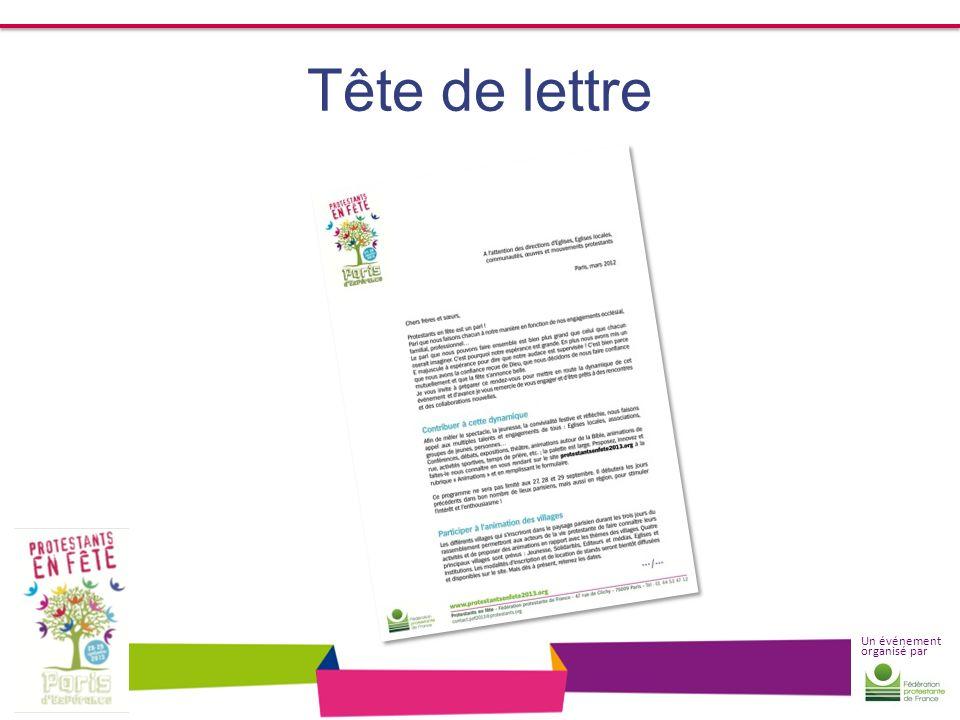 Un événement organisé par Tête de lettre