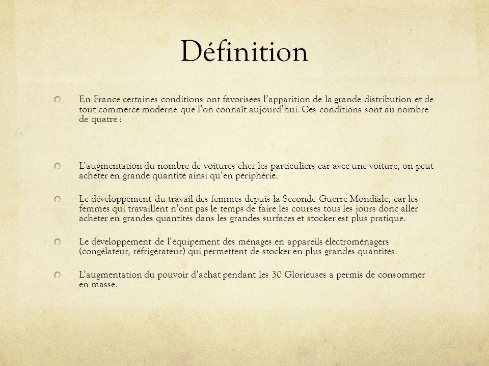 Historique 1852 : Création des grands magasins « Le Bon Marché » par Astride Boucicaut.