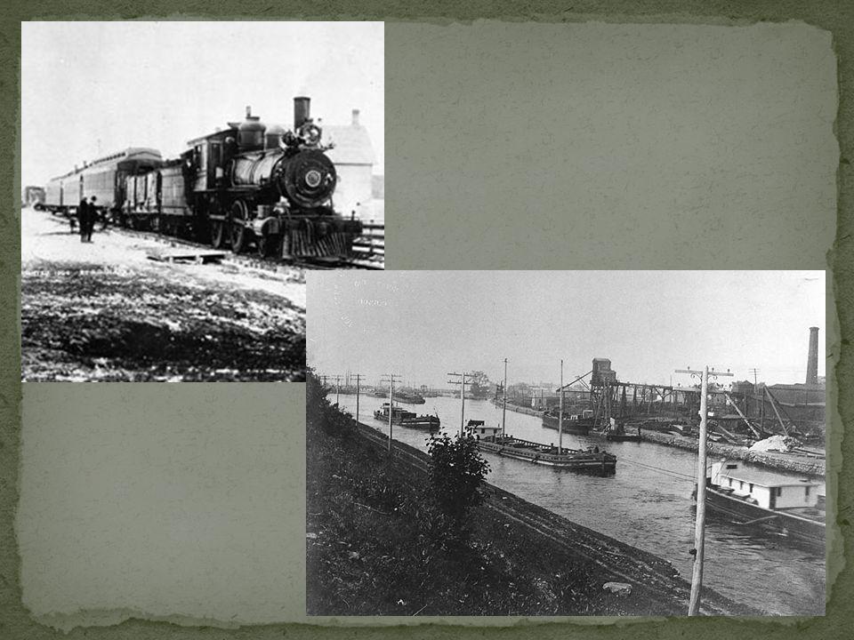 Le bateau à vapeur au milieu des années 1800 aura des conséquences sur le transport en bateau.