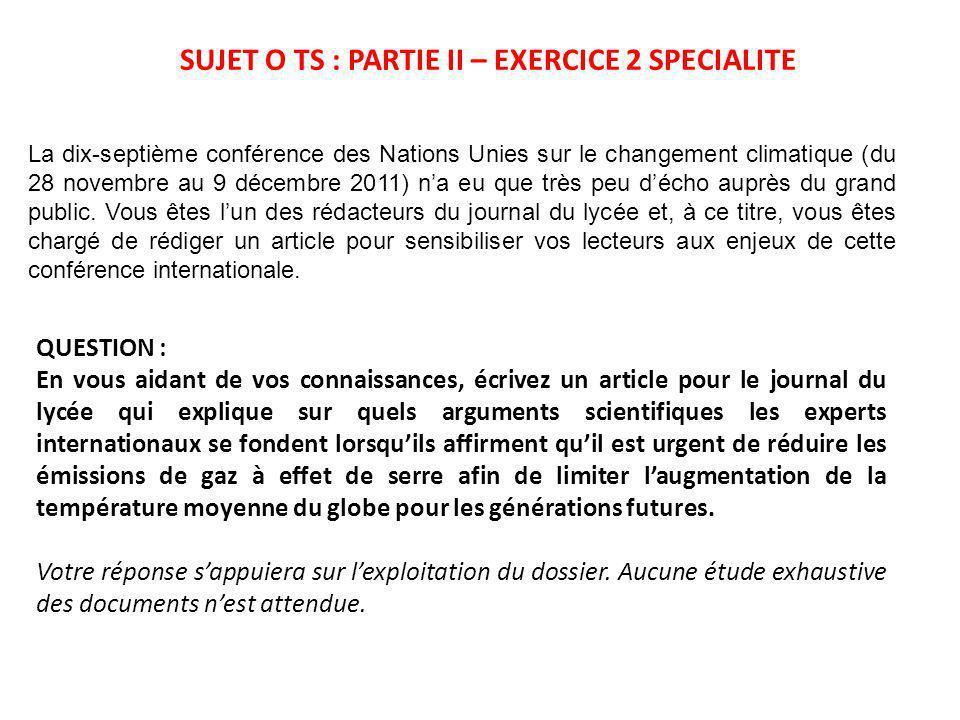 La dix-septième conférence des Nations Unies sur le changement climatique (du 28 novembre au 9 décembre 2011) na eu que très peu décho auprès du grand public.