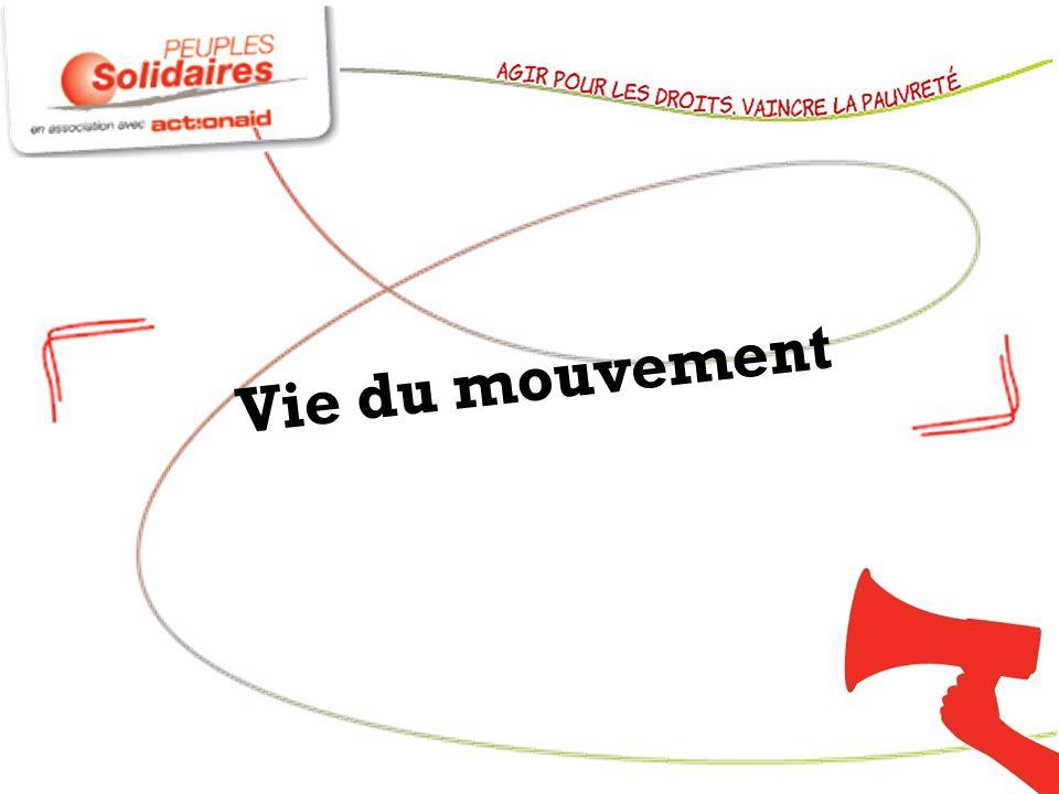 Vie du mouvement