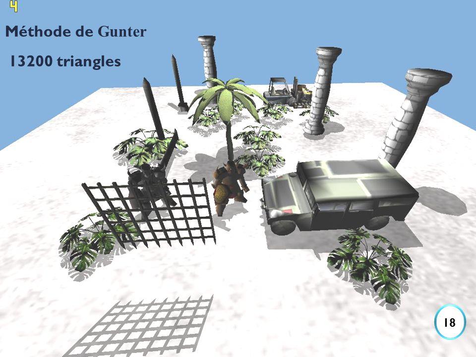 Méthode de Gunter 13200 triangles 18
