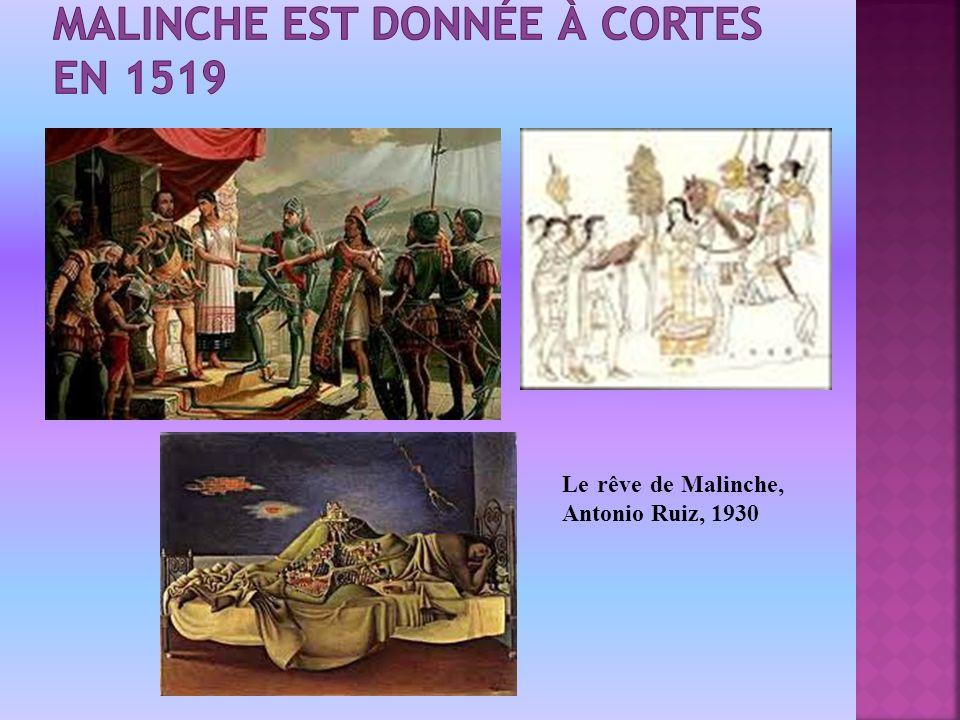Le rêve de Malinche, Antonio Ruiz, 1930