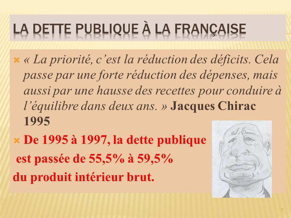 « Nous prenons lengagement de réduire la dette et de réduire le déficit pour quau terme de ces cinq ans on parvienne en France à un budget qui soit équilibré.
