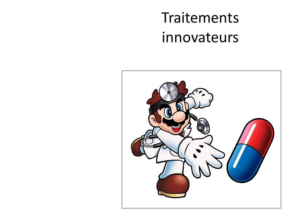 Traitements innovateurs