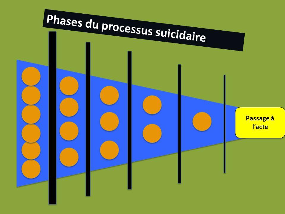 lpkp Phases du processus suicidaire Passage à lacte