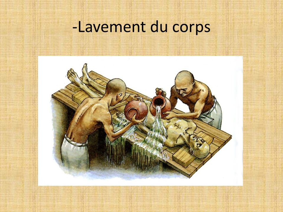 -Lavement du corps