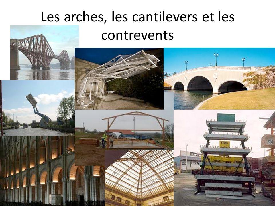 Les arches, les cantilevers et les contrevents