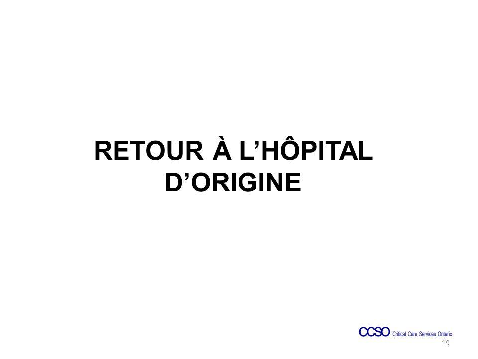 RETOUR À LHÔPITAL DORIGINE 19