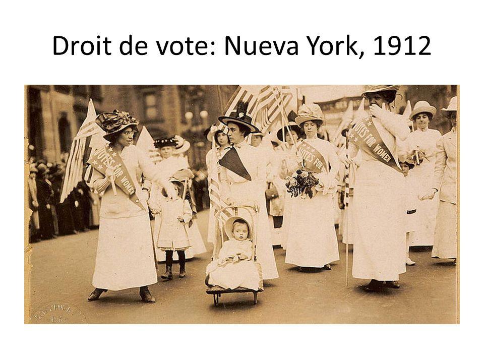 Droit de vote: Nueva York, 1912