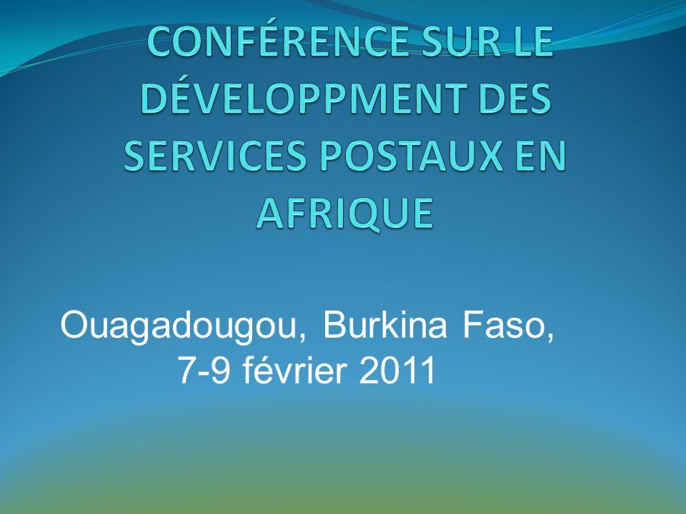 Les services financiers postaux: pilier du développement durable du secteur postal
