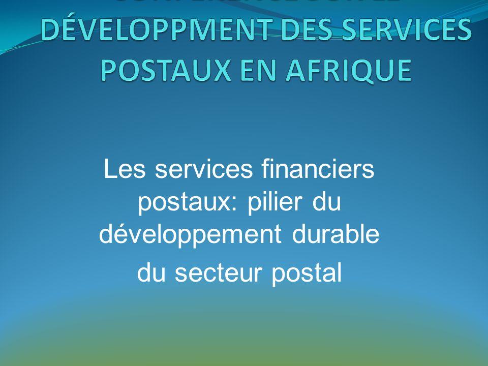 Sommaire 1.Lenvironnement du secteur postal 2. État des lieux des Services Financiers 3.
