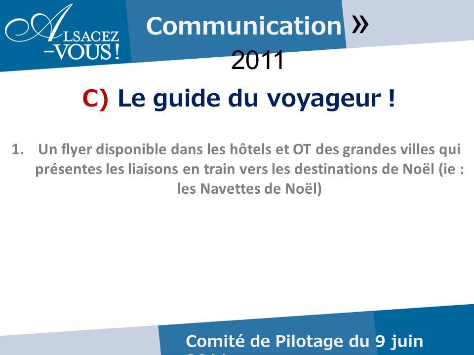 Communication » 2011 C) Le guide du voyageur .
