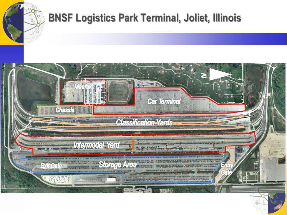 BNSF Logistics Park Terminal, Joliet, Illinois