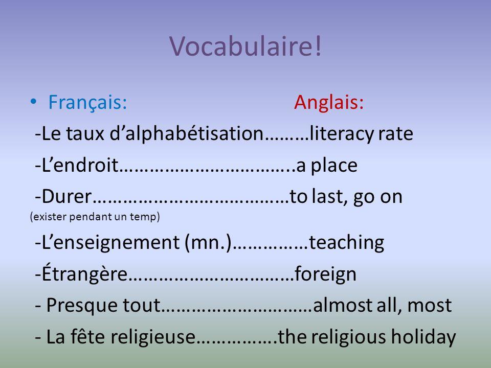 Les Informations de France Il y a 65 millions dhabitants en France aujourdhui.