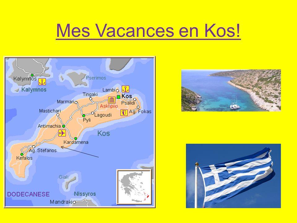 Mes Vacances en Kos!