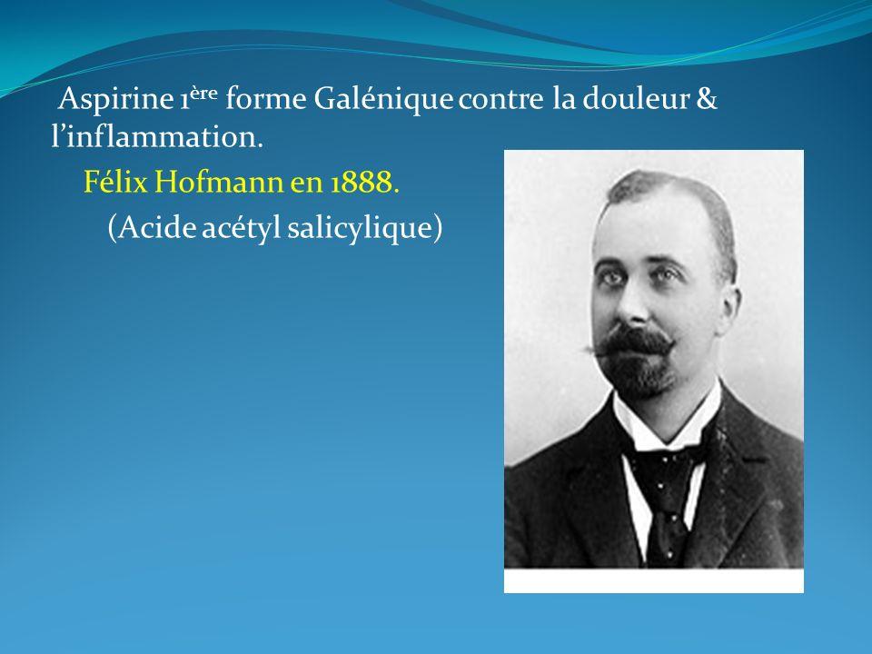 Découverte de la formule du cortisol en 1939 naissance des corticoides.