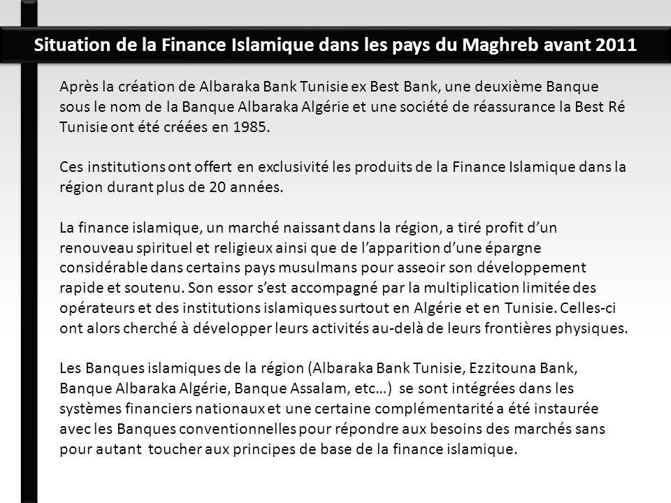 Après la création de Albaraka Bank Tunisie ex Best Bank, une deuxième Banque sous le nom de la Banque Albaraka Algérie et une société de réassurance l