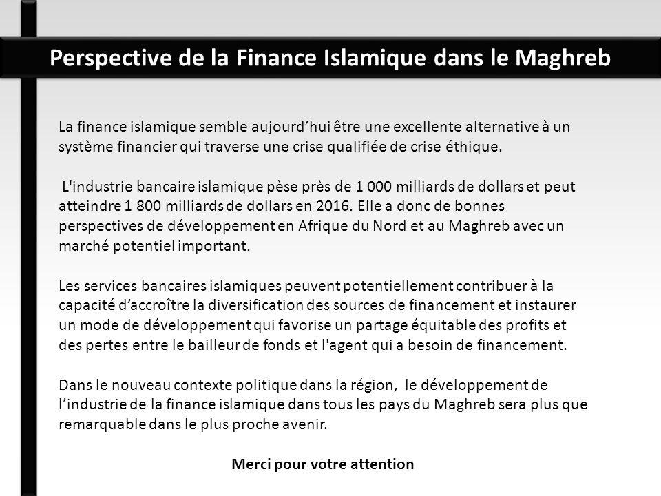 La finance islamique semble aujourdhui être une excellente alternative à un système financier qui traverse une crise qualifiée de crise éthique. L'ind