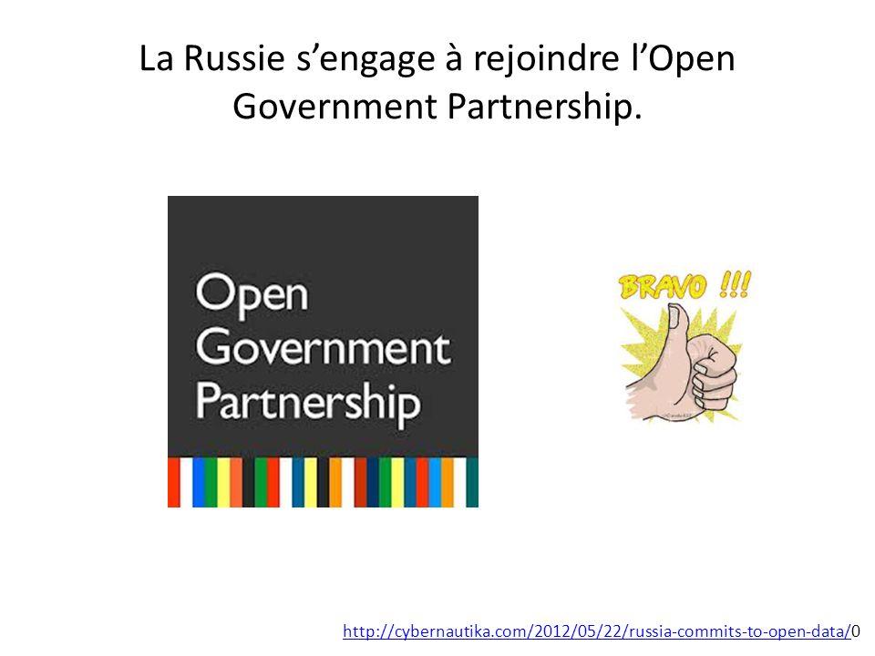 Projet OpenGovData.ru http://opengovdata.ru/