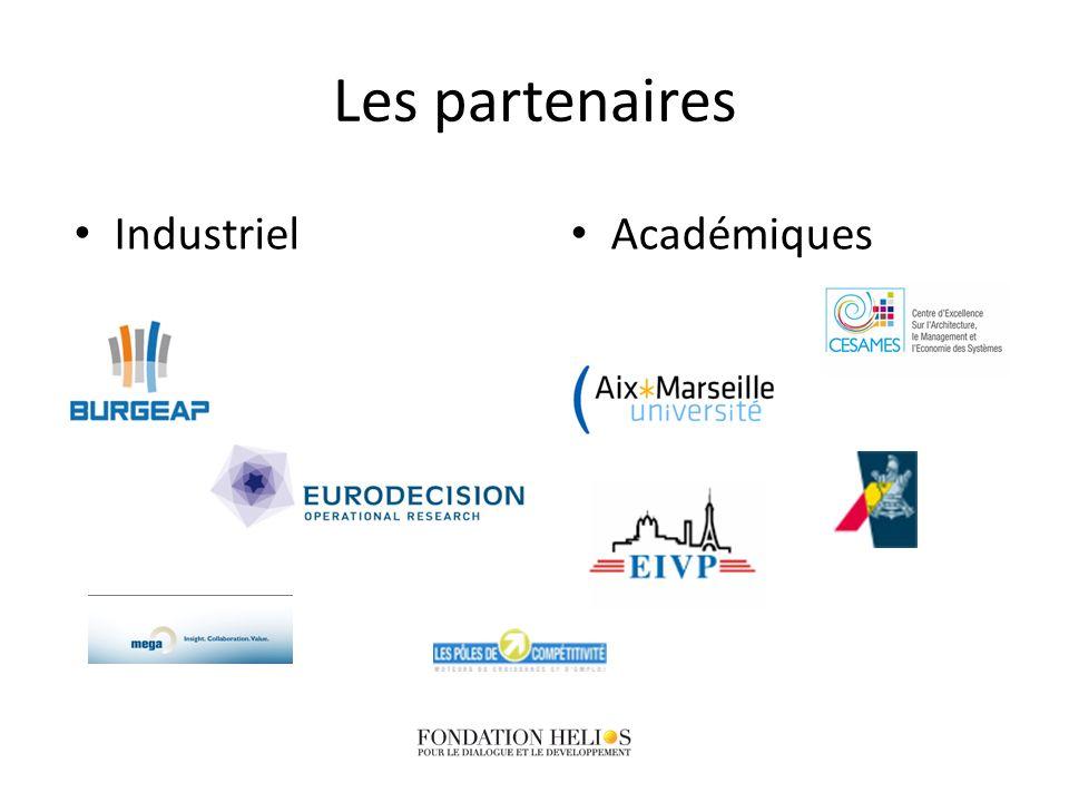 Les partenaires Académiques Industriel