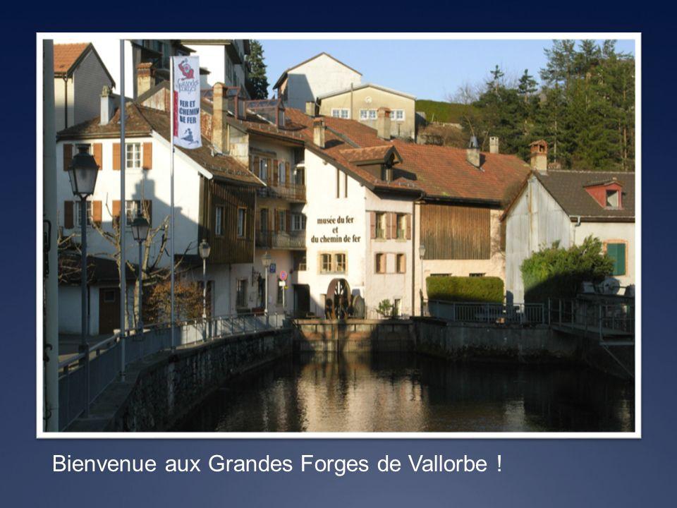 Voici un aperçu de la région de Vallorbe, allant de la Source de lOrbe au Centre Ville.