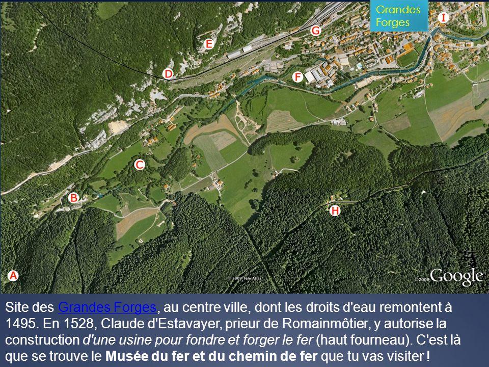Réponse c) : pour permettre le raccordement de la ligne Vallorbe-Pontarlier La première gare de Vallorbe, inaugurée en 1870, a été construite 60 m.