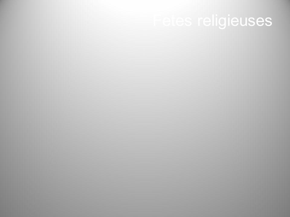 Fetes religieuses