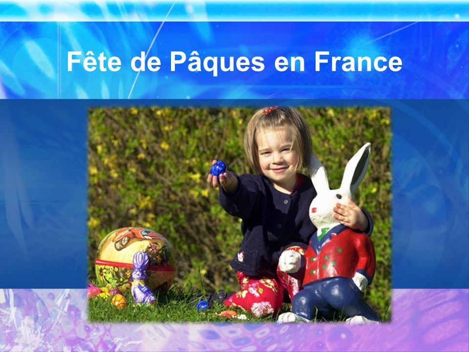 Fête de Pâques en France