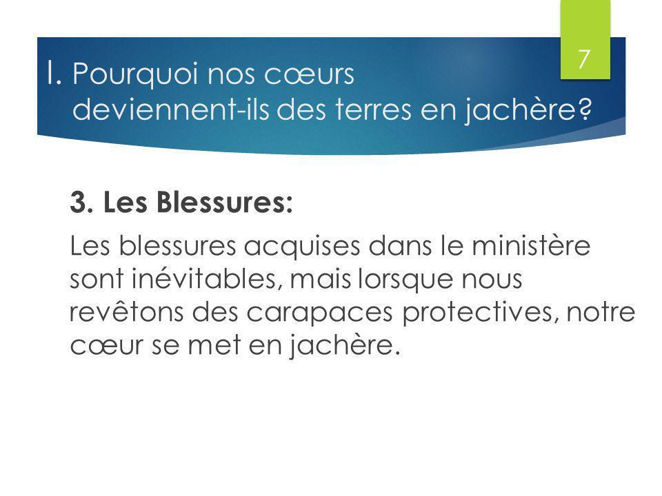 III.La Terre en Jachère Produit Les Ronces: 3.