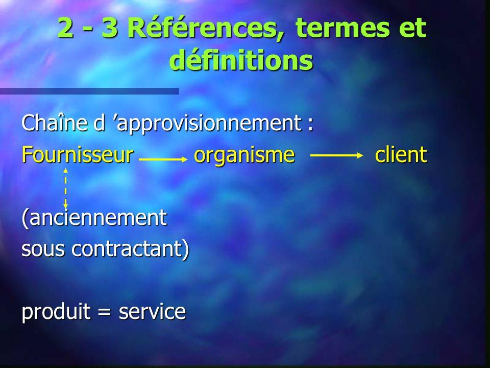 4 - Systèmes de management de la qualité 4-1 Exigences générales Etablir, documenter, mettre en œuvre et entretenir un système de management de la qualité et en maintenir l efficacité 4-2 Exigences relatives à la documentation 4-2-1 Généralités (manuel qualité, procédures…) 4-2-2 Manuel qualité 4-2-3 Maîtrise des documents 4-2-4 Maîtrise des enregistrements
