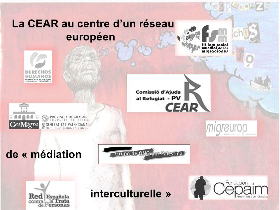 La CEAR au centre dun réseau européen de « médiation interculturelle »
