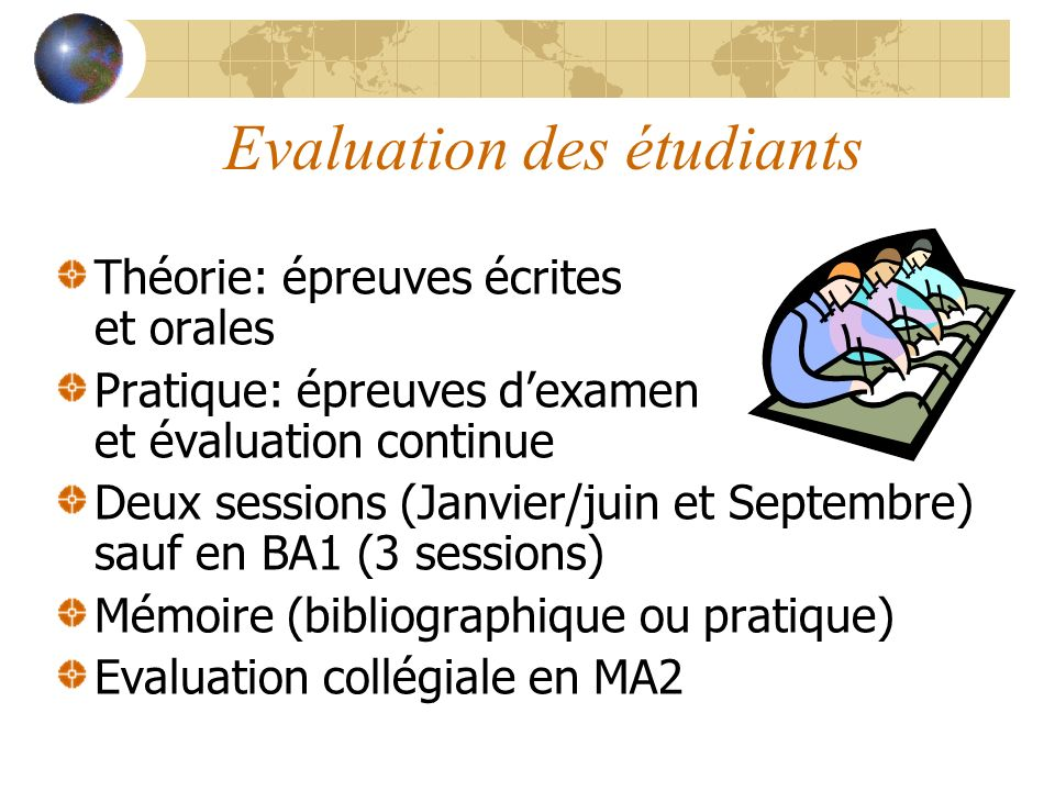 Evaluation des programmes Commission de lenseignement (Conseil des études) Commission pédagogique Evaluation des Sections de Pharmacie par la Communauté Française (Agence pour lévaluation de la qualité): 2003-2005