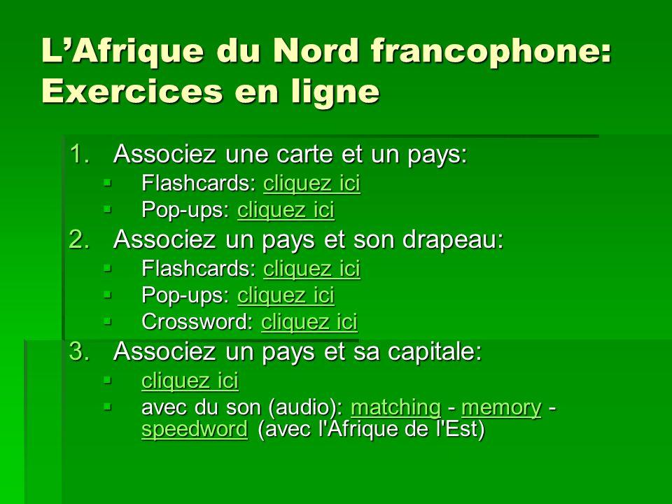 Cest à vous. Cest quel pays? Cest… lAlgérie le Maroc la Mauritanie lEgypte la Tunisie Source: wikipedia