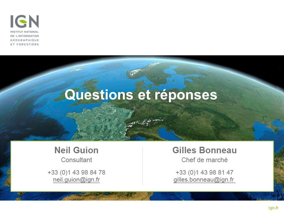 ign.fr Questions et réponses