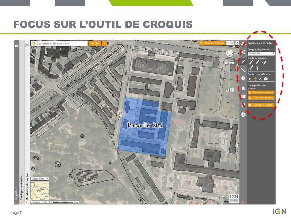 FOCUS SUR LOUTIL DE CROQUIS page 7