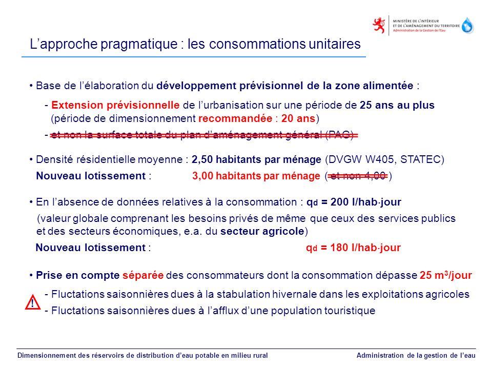 Base de lélaboration du développement prévisionnel de la zone alimentée : - Extension prévisionnelle de lurbanisation sur une période de 25 ans au plu