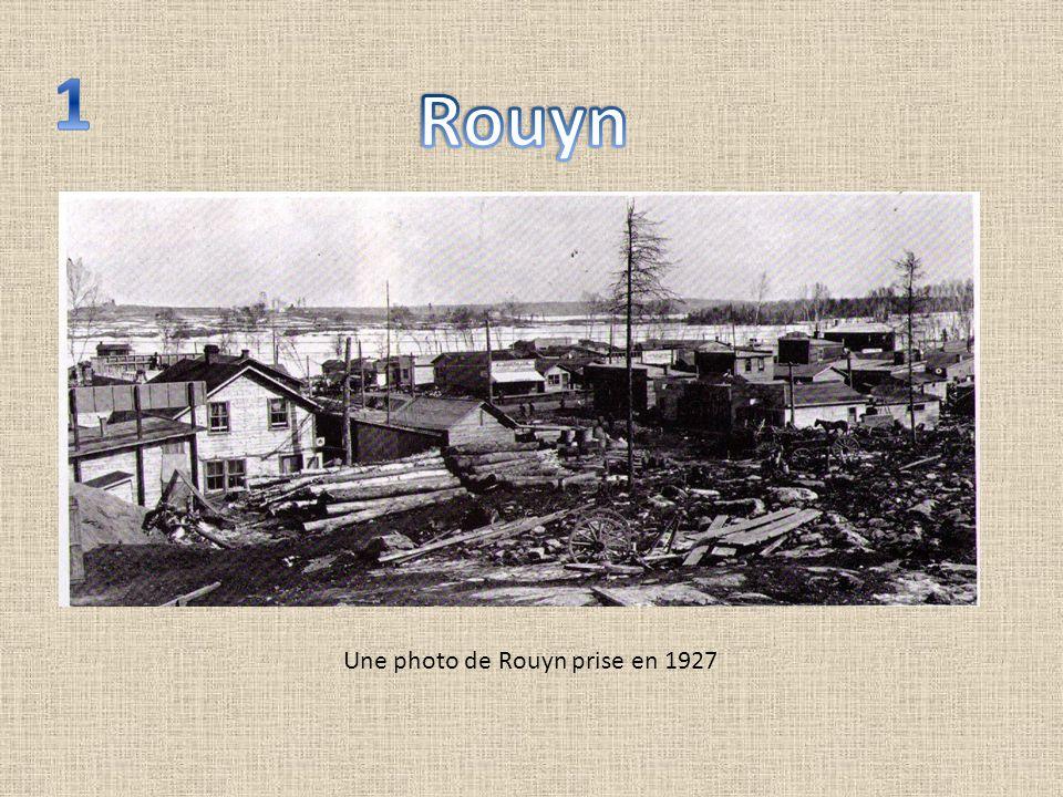 Une photo de Rouyn prise en 1927