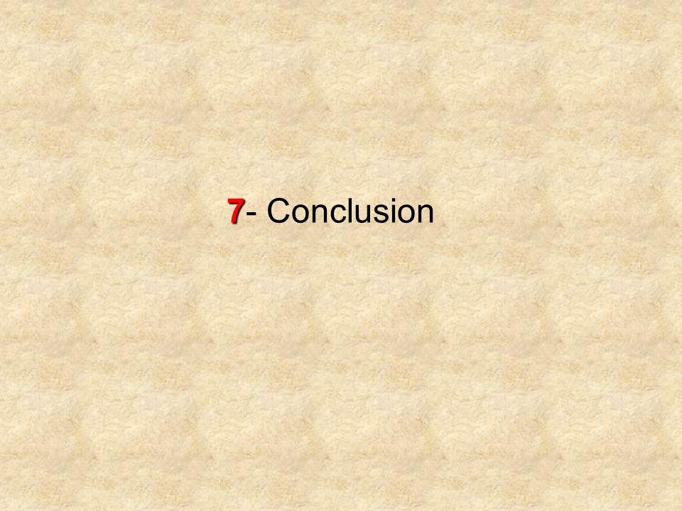 7 7- Conclusion