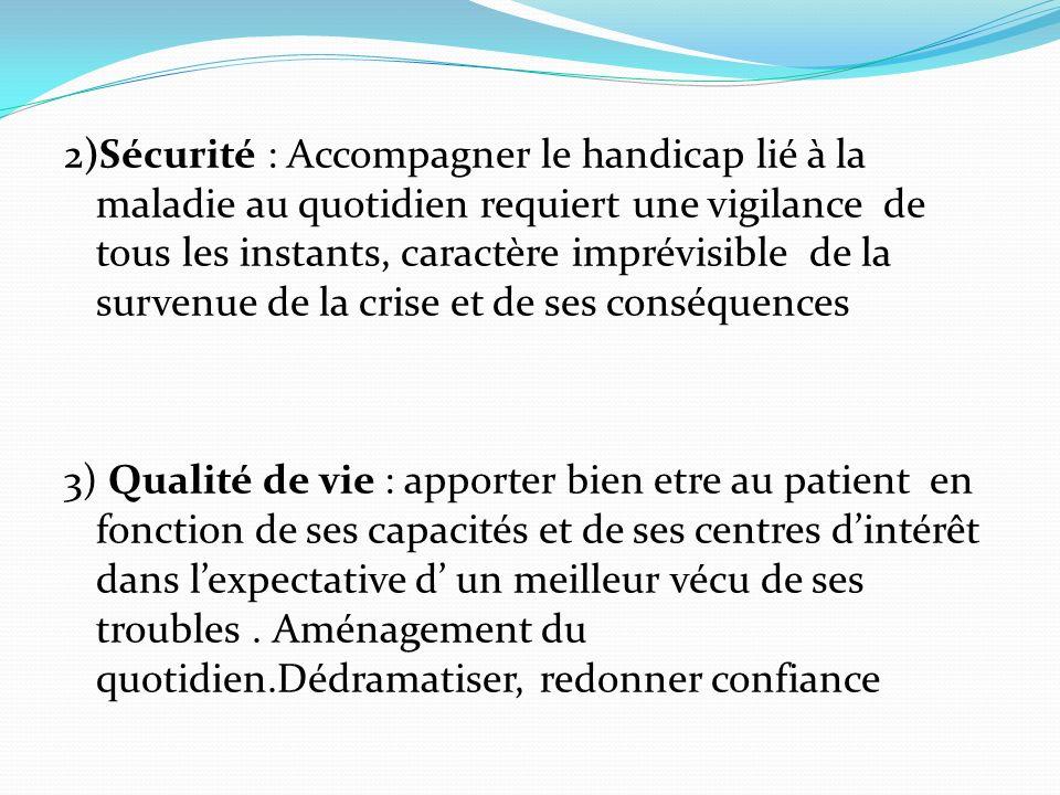 2) Troubles psychotiques chroniques : délires, impulsivité, auto et hétéroagressivité, déficitaire, profil bipolaire.