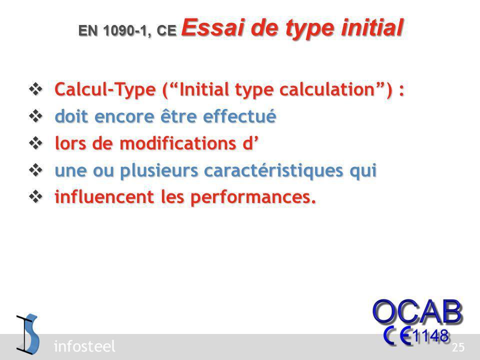 infosteel Prise déchantillons, évaluation et critères Prise déchantillons, évaluation et critères selon tableau 1 de EN 1090-1.