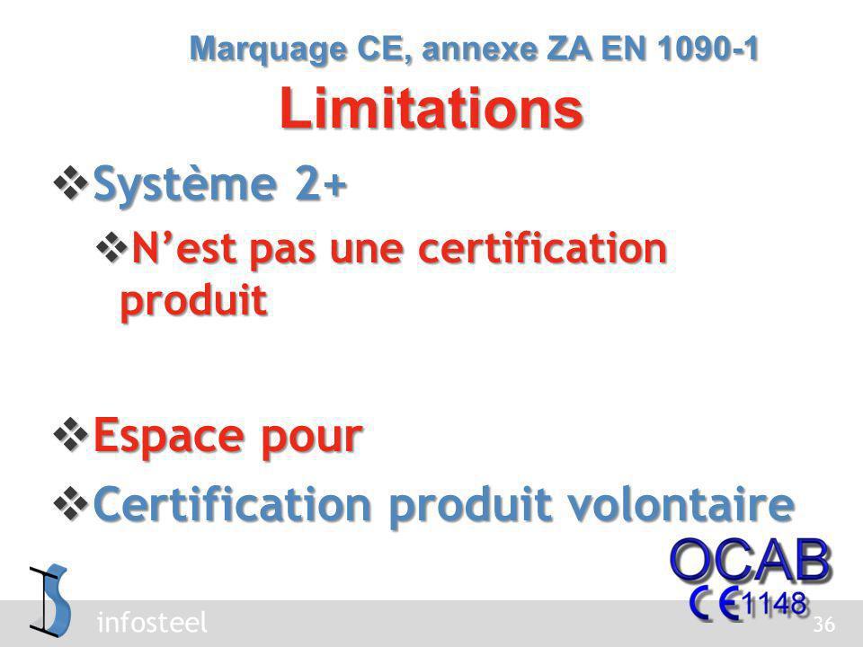 infosteel Avenue de la Plaine, 5 Avenue de la Plaine, 5 1050 BRUXELLES 1050 BRUXELLES www.ocab-ocbs.com www.ocab-ocbs.com www.ocab-ocbs.com 02/509 14 09 02/509 14 09 37 Organisme notifié