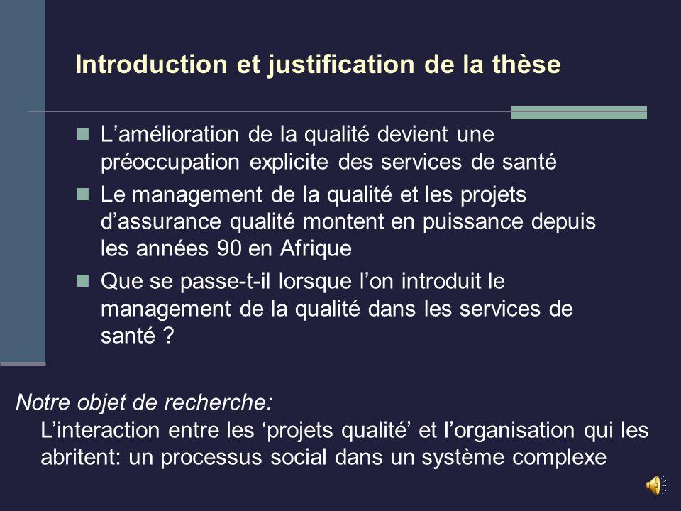 Thèse présentée en vue de lobtention du titre de Docteur en Sciences de la Santé Publique 24 Janvier 2005 Culture qualité et organisation bureaucratique.