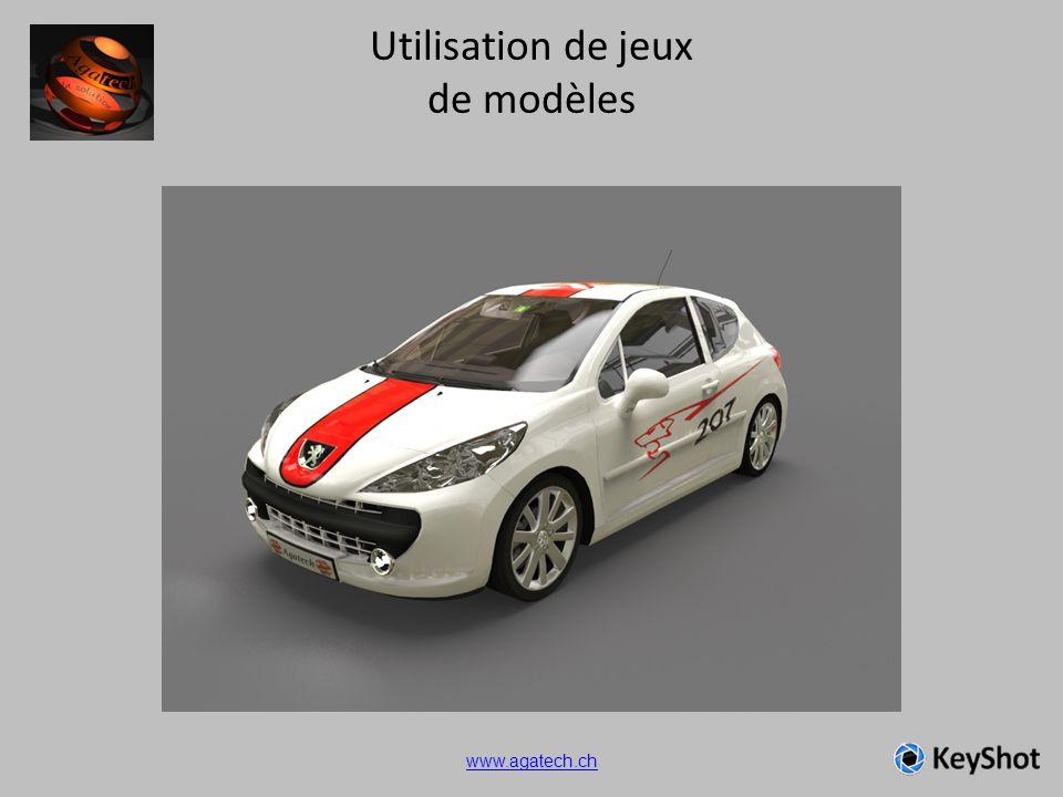 Utilisation de jeux de modèles www.agatech.ch