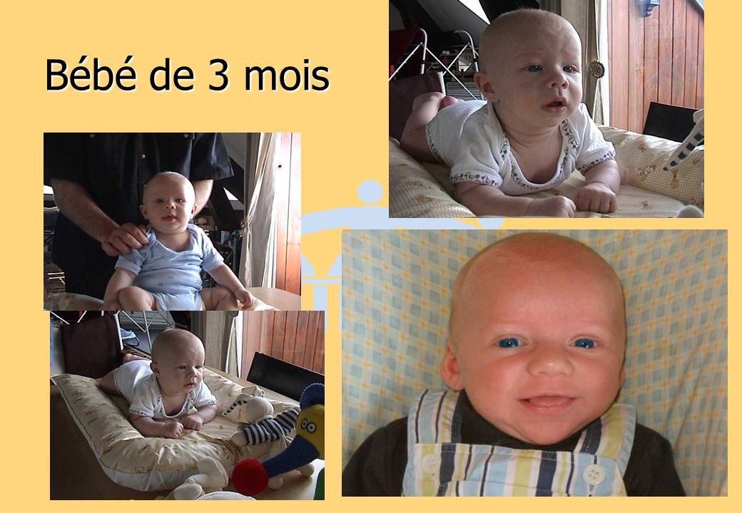 Bébé de 3 mois