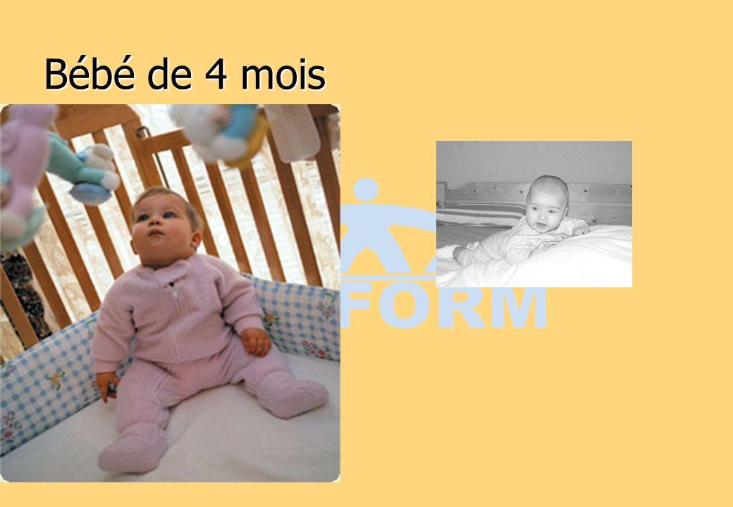 Bébé de 4 mois