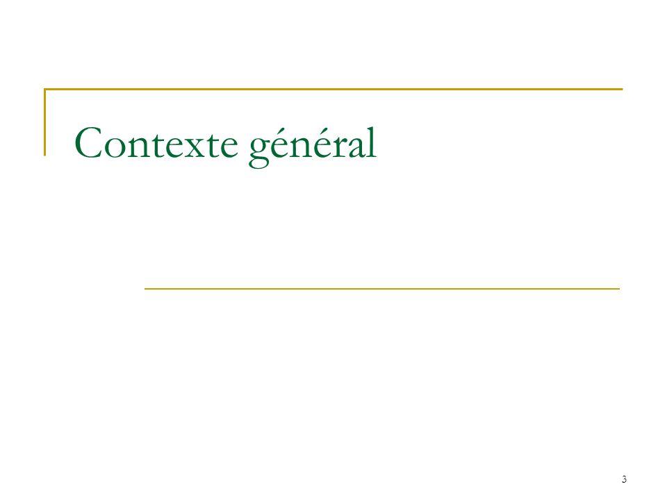 3 Contexte général
