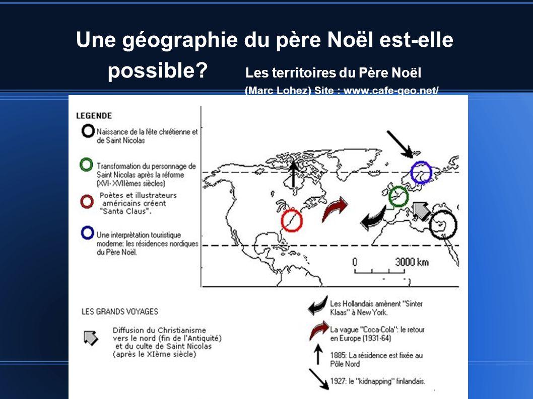 Une géographie du père Noël est-elle possible.