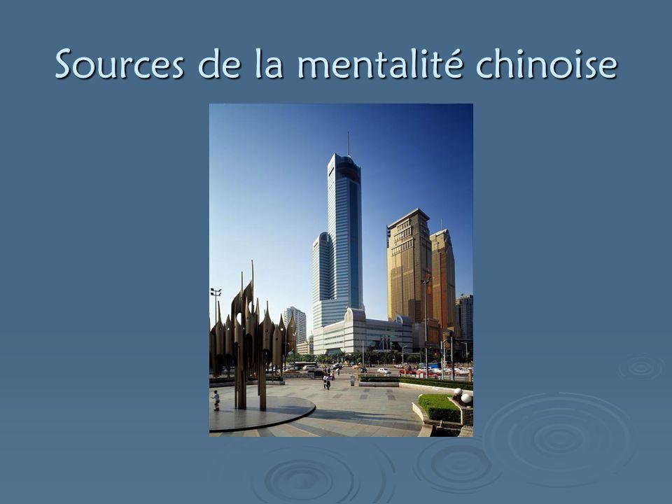 Sources de la mentalité chinoise